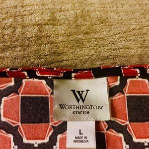Worthington Tops - Worthington Blouse Size L